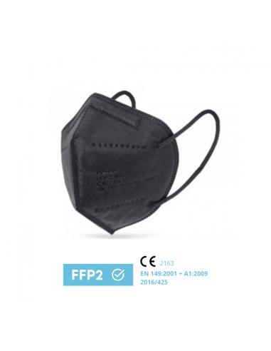 Black Disposable FFP2 Mask NR 5...