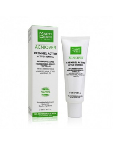 Martiderm Acniover Active Cremigel 40ml.