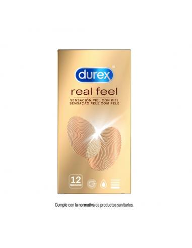 DUREX REAL FEEL PRESERVATIVO SIN...