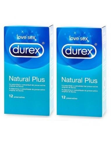 DUREX CONDOMS NATURAL PLUS 12U  DUPLO