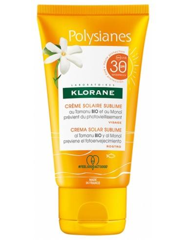 Klorane Polysianes Gel-Sun Cream...