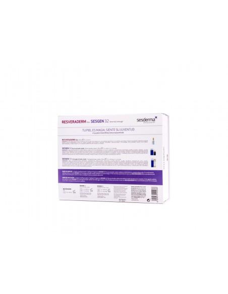 Sesderma Sesgen32 Pack Crema Gel + Serum + Resveraderm