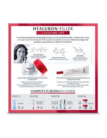Eucerin Hyaluron-Filler Pack Volume PNM 50 ml Piel Mixta + Contorno Ojos