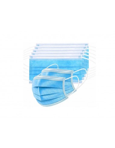 SURGICAL MASK PACK 10 UNITS