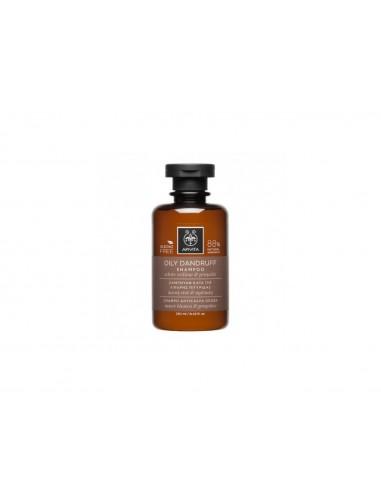 Apivita Oily Anti-Dandruff Shampoo 250ml