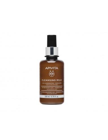 Apivita 3 in 1 Cleansing Milk 200ml