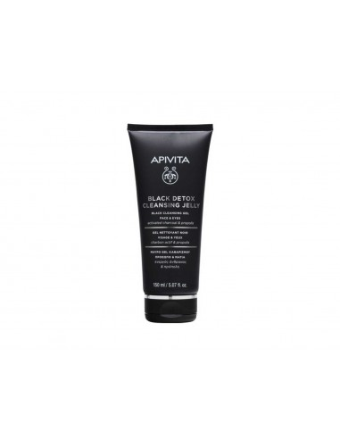 APIVITA BLACK DETOX CLEANSING GEL 150ML