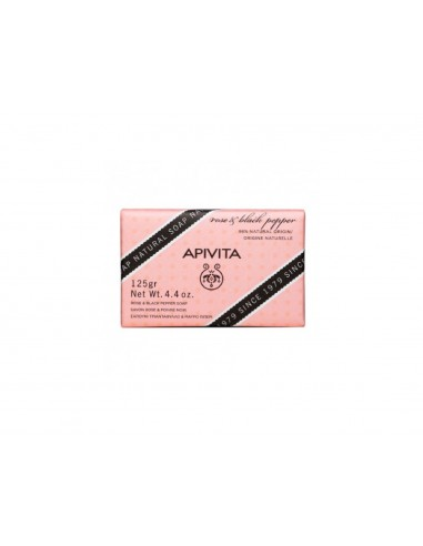Apivita Natural Soap with Pink and...