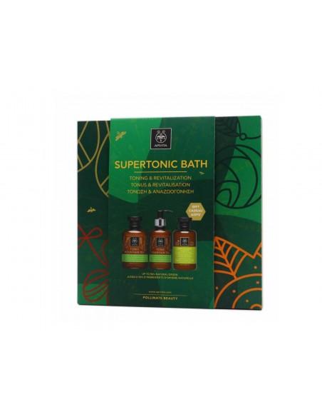 Apivita Mountain Tea Pack Supertonic Bath