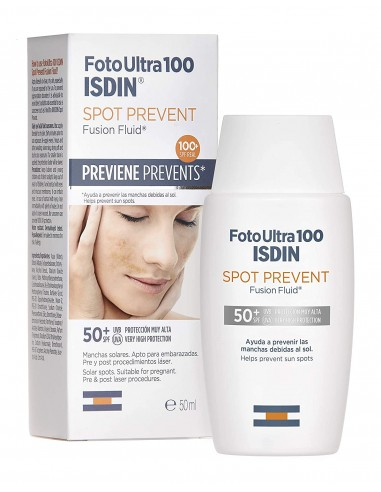 Foto Ultra 100 Isdin Spot Prevent Fusion Fluid SPF 50+