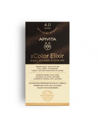 MY COLOR ELIXIR APIVITA N 4.0 TINT BROWN