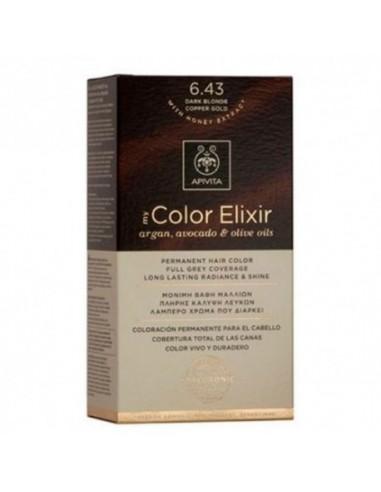 MY COLOR ELIXIR APIVITA N 6.43 DARK...